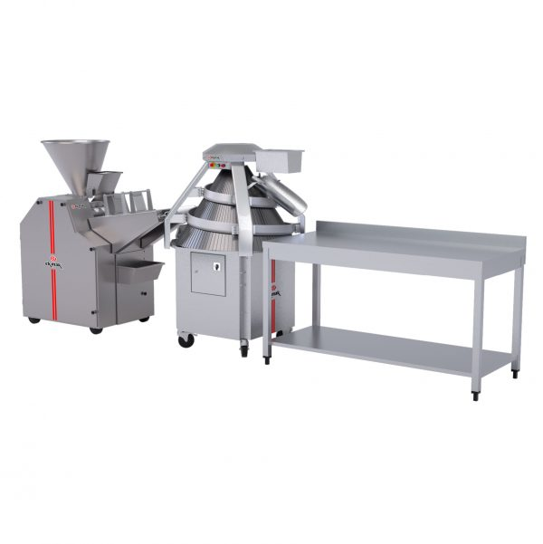 Roll-Hamburger Ekmek Makine Seti (çeşit ekmek)